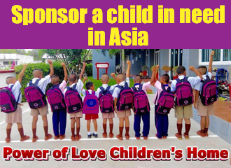 Power of Love Childrens Home Thailand