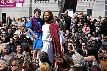 London: Passion Easter performance set for Trafalgar Square