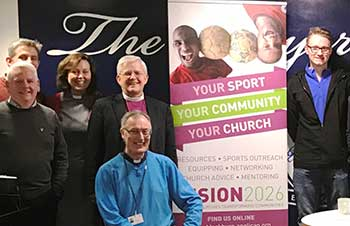 Blackburn: sports ministry launch at Preston North End FC