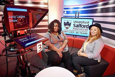 Salford: uni student set to host TV show on global Christian network