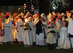Wiltshire village breaks record for largest live nativity