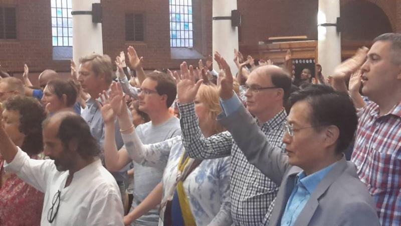 Gathering draws 1000+ as part of South Korean Prayer Mission