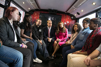 "London: Duke and Duchess visit ""inspirational"" XLP projects"