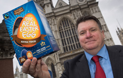 Public votes charity Easter Egg third in UK fairtrade national poll