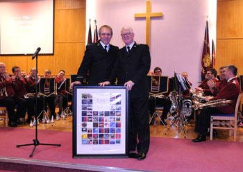 Special award for brass band Brian