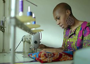 TV sewing bee finalist Chinelo says 'I want God to use what I do for him'