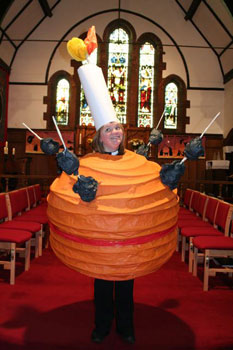 Vicar Adds Some Zest To A Traditional Christmas News